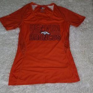 Denver Broncos V-neck Shirt - Authentic
